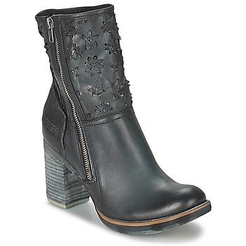 Παπούτσια Γυναίκα Μποτίνια Bunker GRACE COOL Black