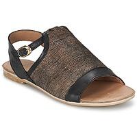 Παπούτσια Γυναίκα Σανδάλια / Πέδιλα Coqueterra CRAFT Black