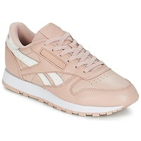 Παπούτσια Γυναίκα Χαμηλά Sneakers Reebok Classic CLASSIC LEATHER Ροζ / Άσπρο