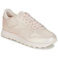 Παπούτσια Γυναίκα Χαμηλά Sneakers Reebok Classic CLASSIC LEATHER Ροζ