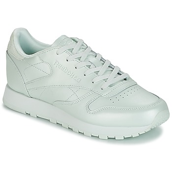 Παπούτσια Γυναίκα Χαμηλά Sneakers Reebok Classic CLASSIC LEATHER Green