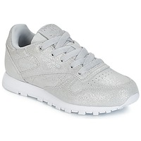 Παπούτσια Κορίτσι Χαμηλά Sneakers Reebok Classic CLASSIC LEATHER C Silver