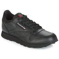 Παπούτσια Παιδί Χαμηλά Sneakers Reebok Classic CLASSIC LEATHER J Black