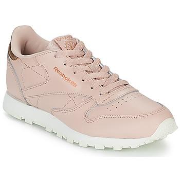 Παπούτσια Κορίτσι Χαμηλά Sneakers Reebok Classic CLASSIC LEATHER J Ροζ
