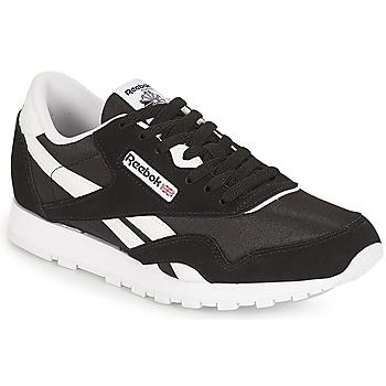 Παπούτσια Παιδί Χαμηλά Sneakers Reebok Classic CLASSIC NYLON J Black / Άσπρο