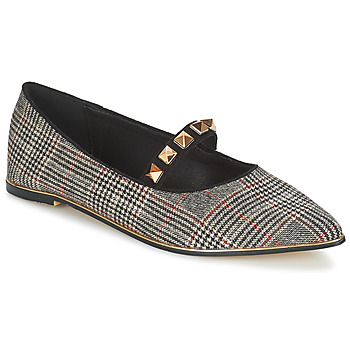 Παπούτσια Γυναίκα Μπαλαρίνες Menbur DOUMIER Black / Red