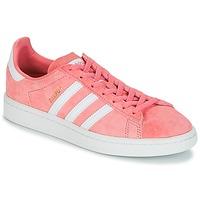 Παπούτσια Γυναίκα Χαμηλά Sneakers adidas Originals CAMPUS W Ροζ