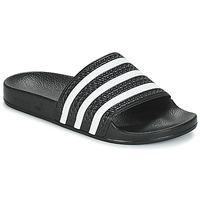 Παπούτσια Χαμηλά Sneakers adidas Originals ADILETTE Black / Άσπρο