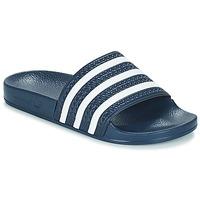 Παπούτσια σαγιονάρες adidas Originals ADILETTE Marine / Άσπρο