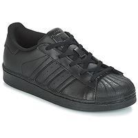 Παπούτσια Παιδί Χαμηλά Sneakers adidas Originals SUPERSTAR C Black