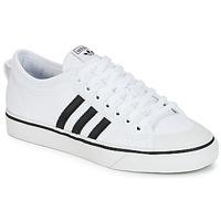 Παπούτσια Χαμηλά Sneakers adidas Originals NIZZA Άσπρο / Black