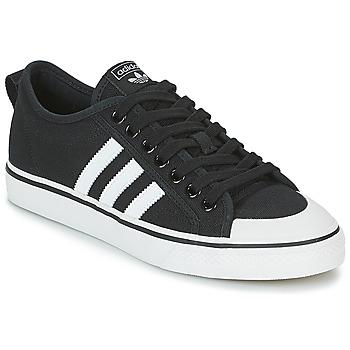Παπούτσια Χαμηλά Sneakers adidas Originals NIZZA Black / Άσπρο