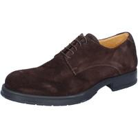 Παπούτσια Άνδρας Derby & Richelieu Salvo Barone BZ164 καφέ