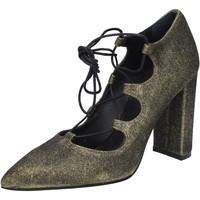 Παπούτσια Γυναίκα Γόβες Islo decolte oro glitter BZ215 Oro