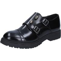 Παπούτσια Γυναίκα Derby Islo classiche nero pelle lucida BZ224 Nero