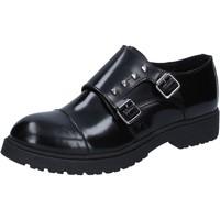 Παπούτσια Γυναίκα Derby Islo classiche nero pelle BZ228 Nero