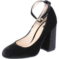Παπούτσια Γυναίκα Γόβες Islo decolte nero velluto BZ233 Nero