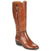 Παπούτσια Γυναίκα Μπότες για την πόλη Pikolinos DAROCA W1U Camel