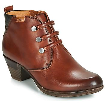 Παπούτσια Γυναίκα Μποτίνια Pikolinos ROTTERDAM 902 Brown