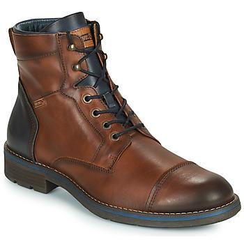 Παπούτσια Άνδρας Μπότες Pikolinos YORK M2M Brown / Marine