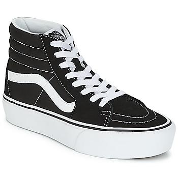 Παπούτσια Γυναίκα Ψηλά Sneakers Vans SK8-HI PLATFORM 2.1 Black / Άσπρο