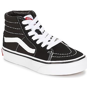 Παπούτσια Παιδί Ψηλά Sneakers Vans UY SK8-HI Black / Άσπρο