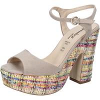 Παπούτσια Γυναίκα Σανδάλια / Πέδιλα Geneve Shoes BZ890 Μπεζ