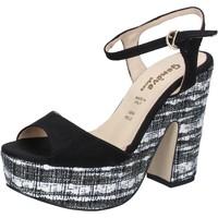 Παπούτσια Γυναίκα Σανδάλια / Πέδιλα Geneve Shoes BZ893 Μαύρος