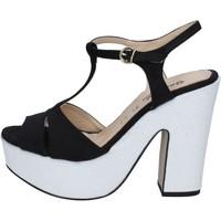 Παπούτσια Γυναίκα Σανδάλια / Πέδιλα Geneve Shoes BZ897 Μαύρος