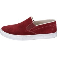 Παπούτσια Άνδρας Slip on Nyon NYON slip on bordeaux camoscio BZ901 Rosso