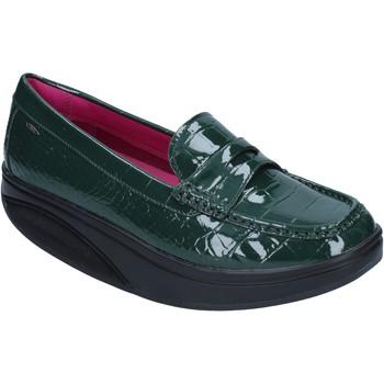 Παπούτσια Γυναίκα Μοκασσίνια Mbt BZ906 πράσινος