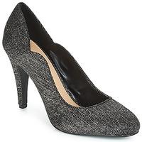 Παπούτσια Γυναίκα Γόβες Moony Mood JANNEE Black / Argenté