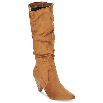 Παπούτσια Γυναίκα Μπότες για την πόλη Moony Mood JULMA Brown