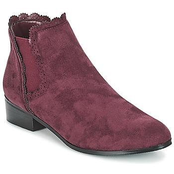 Παπούτσια Γυναίκα Μπότες Moony Mood JERMA Aubergine