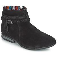 Παπούτσια Γυναίκα Μπότες Minnetonka DIXON BOOT Black