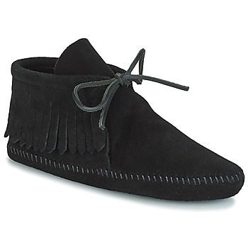 Παπούτσια Γυναίκα Μπότες Minnetonka CLASSIC FRINGE Black