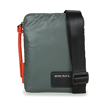 Τσάντες Άνδρας Pouch / Clutch Diesel DISCOVER SMALLCROSS Grey / Orange