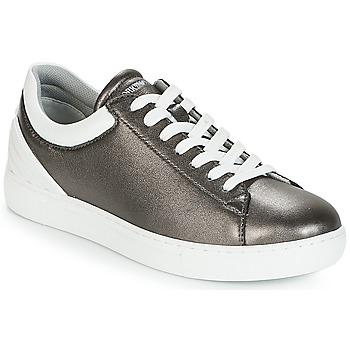 Παπούτσια Γυναίκα Χαμηλά Sneakers Emporio Armani BRUNA Pewter