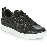 Παπούτσια Γυναίκα Χαμηλά Sneakers Emporio Armani DELIA Black