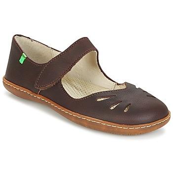 Παπούτσια Γυναίκα Μπαλαρίνες El Naturalista EL VIAJERO Brown