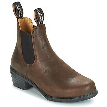 Παπούτσια Γυναίκα Μποτίνια Blundstone WOMEN'S HEEL BOOT Brown