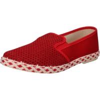 Παπούτσια Άνδρας Slip on Caffenero AE159 το κόκκινο