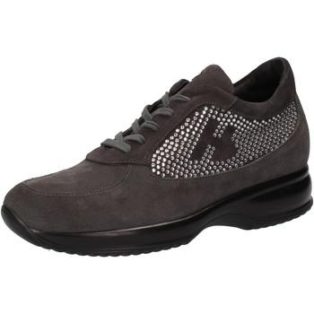 Xαμηλά Sneakers Hornet Botticelli sneakers grigio camoscio strass AE480