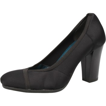 Παπούτσια Γυναίκα Γόβες Keys decolte nero tessuto AE601 Nero