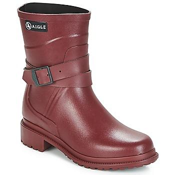 Παπούτσια Γυναίκα Μπότες βροχής Aigle MACADAMES MID Bordeaux