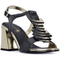 Παπούτσια Γυναίκα Σανδάλια / Πέδιλα Apepazza NERO HEEL SANDAL Nero