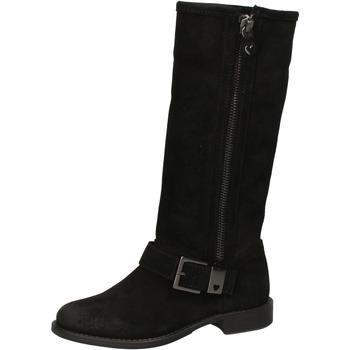 Μπότες για την πόλη Twin Set TWIN-SET stivali nero camoscio AE835