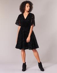 Υφασμάτινα Γυναίκα Κοντά Φορέματα Derhy DAMOISELLE Black