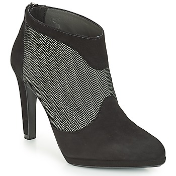 Παπούτσια Γυναίκα Μποτίνια Peter Kaiser PATRINA Black / Grey