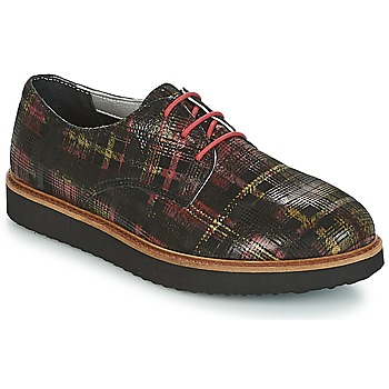 Παπούτσια Γυναίκα Derby Ippon Vintage JAMES SCOTTISH Black / Red